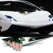 3D Car SUV Door Window Bumper Monster Peeking Decal Graphics Sticker Accessories