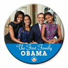 Barack Obama Michelle Obama The First Family 2nd Term 3 Inch Button