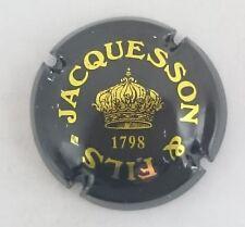 capsule champagne JACQUESSON & fils n°11 noir et or