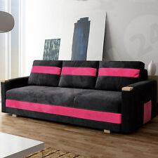 Couch Schlafsofa Sofa Ibiza Schlafcouch Bettsofa mit Schlaffunktion + Bettkasten