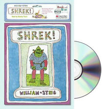 SHREK Read Along paperback & CD by William Steig  ugly ogre marries princess