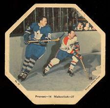 1967-68 York Octagons Hockey #20 Provost vs Frank Mahovlich Toronto maple leafs