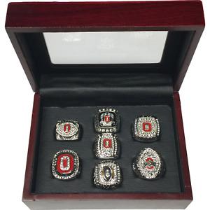 NEW 2002-2015 OSU Buckeyes NCAA Big 10 & National Championship 7 Piece Set