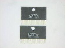 "TA8229K  ""Original"" Toshiba  15P SIP IC  2  pcs"