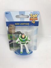 "Disney Toy Story 4 BUZZ Lightyear 2"" Mini Figure Figurine Mattel Cake Topper NEW"