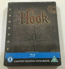 Hook (1991) - Limited Edition Steelbook Blu-Ray Region Free | New | Rare