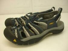 Men's sz 9.5 M Keen NEWPORT H2 MIDNIGHT NAVY FEATHER GRAY 1014187 Sandals Sport