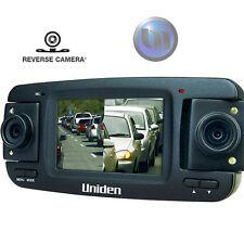 "UNIDEN Triple HD In-Car Vehicle Recorder W Cam - 2 x 180 Swivel Cameras - 2.7"""