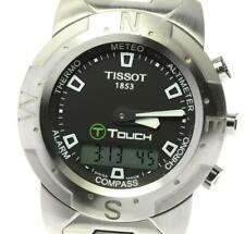 TISSOT T touch Z251/351-1 Chronograph black Dial Quartz Men's Watch_574808