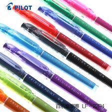 Pilot Frixion Point  Pen Erasable Roller Ball Pen LF-22P4 0.4mm Japan 10 Colors