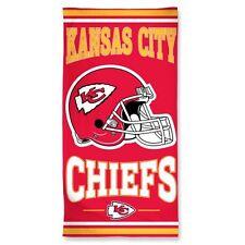 """NFL Kansas City Chiefs - Beach Towel  30"""" x 60"""" - 100% Cotton"""