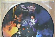 PRINCE AND THE REVOLUTION Purple Rain LP Limited Edition Picture Disc