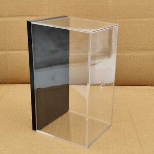 20cm Acrylic Case Toys Car Display Box Transparent Dustproof Motorcycle Models