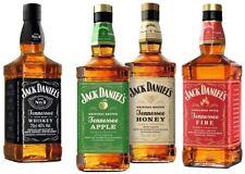 Jack Daniel's Taster Set 4x70cl (Black/Apple/Honey/Fire)