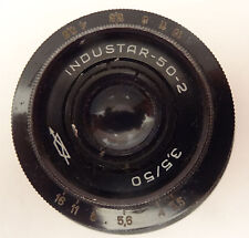 INDUSTAR 50-2 OBJECTIF  - 3,5/50 made in USSR   - VINTAGE LENS