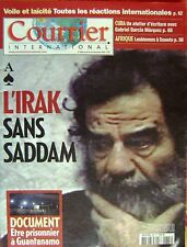 Courrier International   N°685   18 Dec 2003 : L'irak sans sadam