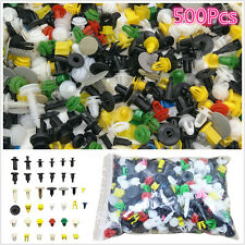 500pc Mixed Car Door Trim Panel Bumper Fender Retainer Push Rivet Fastener Clips