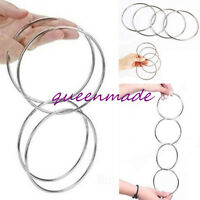Chinese Linking Rings Close Up Street Party Show Magic Trick Props 4 SIZE Hot Q
