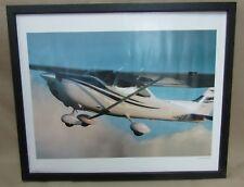 Cessna Skylane Photo with Wood Frame