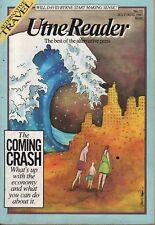 UTNE READER No. 22 (1987) ALTERNATIVE MEDIA - THE COMING CRASH - DAVID BYRNE