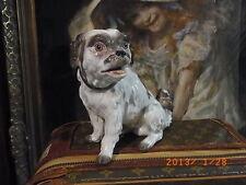 Meissener-Porzellan-Hunde aus