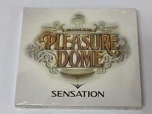 Sensation - Welcome To The Pleasure Dome - Dance (2 CD Set) Digipak NEW & SEALED