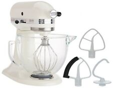 KitchenAid Stand Mixer KSM154GB 5-Qt W/Glass Bowl+Flex Edge Beater Several Color