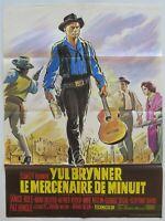 LE MERCENAIRE DE MINUIT Yul BRYNNER film cinéma poster affiche
