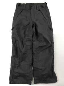 COLUMBIA TITANIUM Men's snow pants Medium Ski Snowboard Insulated Gray x3-23
