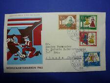 LOT 12649 TIMBRES STAMP ENVELOPPE CINEMA ET TV ALLEMAGNE ANNEE 1965