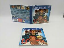 Street Fighter 3 III Third Strike Sega Dreamcast Case, Inlay & Manual Only
