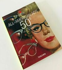 Rare TASCHEN Icons Book - All American Ads of the 50's - 1950's - Read once