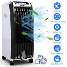 Costway Evaporative Portable Air Cooler Fan Anion Humidify W/ Remote Control