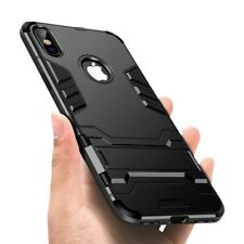 New Cell Phone CaseStand Case Accessories For iPhone Xs Max Black Hybrid Pc