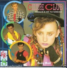 CULTURE CLUB - COLOUR BY NUMBERS - MAIL PROMO CD - FREE UK POST