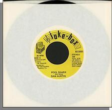 "Dan Austin - Pool Shark + 'Til You've Been a Lady - 1983, 7"" 45 RPM Single!"
