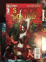 Suicide Squad New 52 LOT #0,1,5,8,12,13,15 All in Great Shape