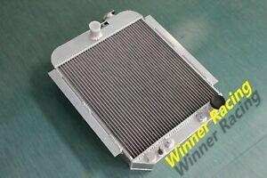 aluminum alloy radiator For Chevy Car/Sedan BB/SB V8 A/T 1946 1947 1948  56mm
