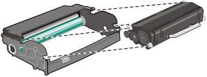 1 x Photoconductor Drum Unit Replacement For Lexmark E230, E330, E340 - 12A8302