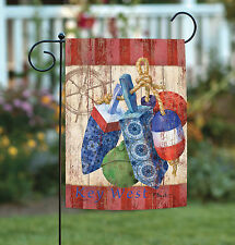 NEW Toland - Rustic Floats and Wheel Key West - Regional Florida Garden Flag