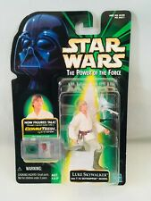 Star Wars The Power of the Force Luke Skywalker Action Figure with T-16 Model