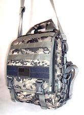 Laptop Backpack Rucksack Tactical Shoulder Messenger ACU DIGITAL Molle Design