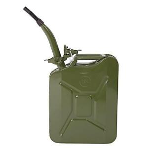 20L Metal Jerry Can Storage for Fuel Oil / Petrol/ Diesel + flexible Spout