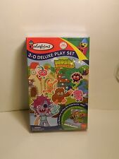 Moshi Monsters 3D deluxe play set Colorforms  Ages 3-8      ***NEW IN BOX***