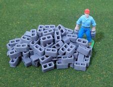 1/64 Scale Cinder Blocks, Set of 100