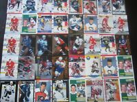 Huge Lot of 50 Rookie RC Hockey Cards Stars and Semistars High Value $$