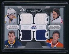 FORSBERG GAUDREAU GIRGENSONS NUGENT-HOPKINS 2015-16 SP GAME USED ALL-STAR JERSEY