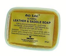 Gold Label Glycerin Leather & Saddle Soap - 250 g - Leather Care
