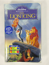 The Lion King  Walt Disney Masterpiece Brand New Factory Sealed (VHS, 1995)