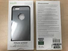 MOSHI  SILVER GREY ALUMINUM HARD CASE COVER FOR APPLE iPHONE 6 6s 4.7 inch